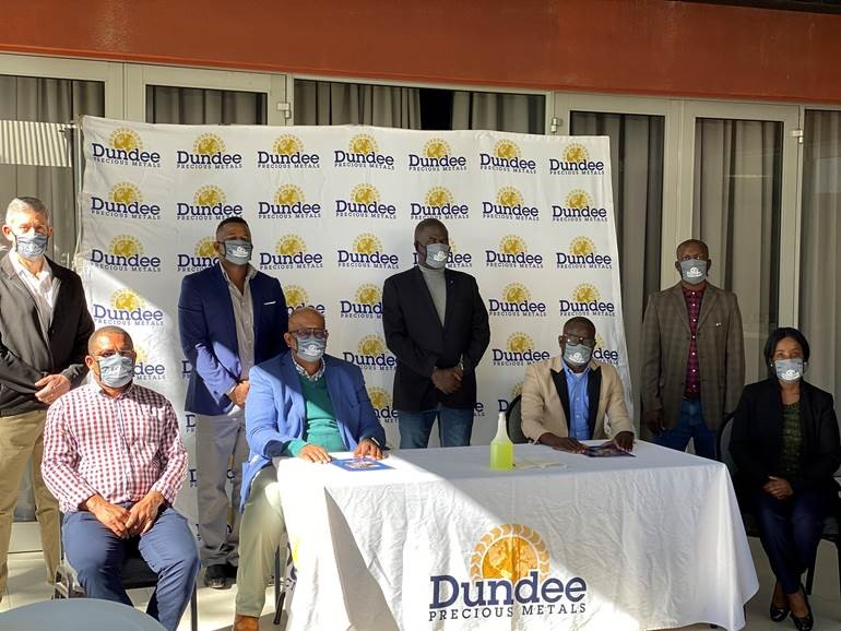 Dundee Precious Metals Tsumeb Concludes Wage Negotiations